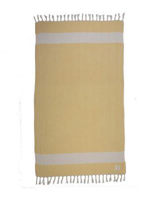 Πετσέτα Θαλάσσης Peshtemal SUNVIEW της NEF-NEF (90x170) YELLOW