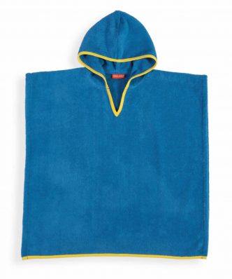 Παιδικό Πόντσο BONO της NEF-NEF (60x120) BLUE
