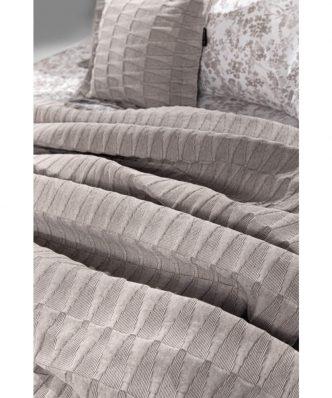 Καλοκαιρινή Κουβέρτα Υπέρδιπλη PALMYRA της Guy Laroche (245x260) WENGE