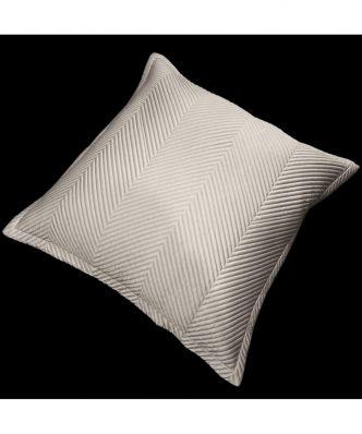 Διακοσμητική μαξιλαροθήκη Δαπέδου VENERE της Guy Laroche (60x60) TAUPE