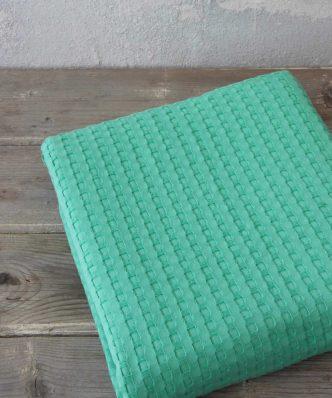 Καλοκαιρινή Κουβέρτα Πικέ Μονή Habit της NIMA HOME - Green (160x240)