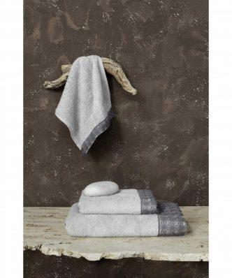 Πετσέτα Ingrid της NIMA HOME - Gray