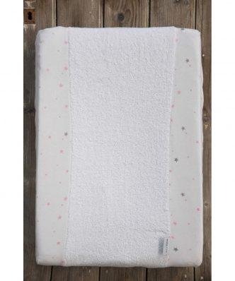 Jersey Βρεφικό Κάλυμμα αλλαξιέρας Nene της NIMA HOME - Pink (50x70)