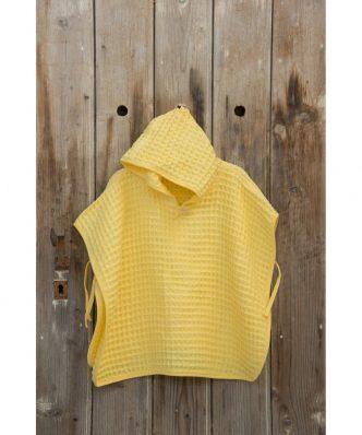 Παιδικό Πόντσο Spicy της NIMA HOME - Yellow (No 2-4)