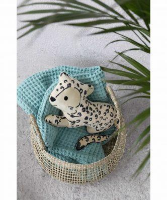 Παιδικό Διακοσμητικό Μαξιλαράκι Sleepy Panther της NIMA HOME (33x22)