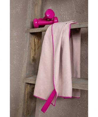 Πετσέτα Γυμναστηρίου Riva της NIMA HOME - Pink (50x90)