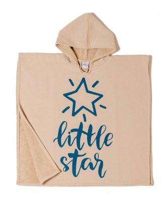 Παιδικό Πόντσο STAR της MELINEN (60x60) - BEIGE