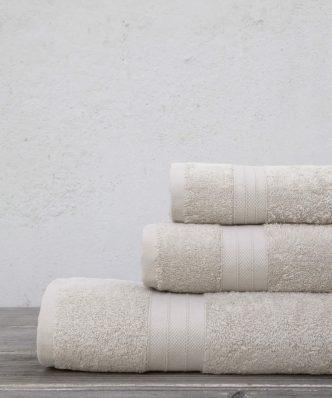 Πετσέτα Moss Ivory της Kocoon by NIMA
