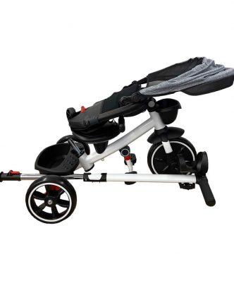 Παιδικό Αναδιπλώμενο Τρίκυκλο Ποδήλατο A-TRIKE ΓΚΡΙ της ΑΒΟ
