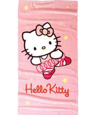 Παιδική Πετσέτα Θαλάσσης HELLO KITTY 17 της NIMA HOME (75x150)