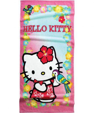 Παιδική Πετσέτα Θαλάσσης HELLO KITTY 22 της NIMA HOME (75x150)