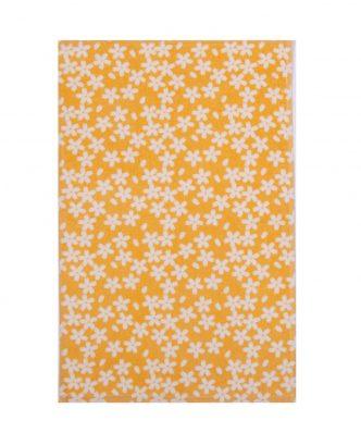 Βελουτέ Ποτηρόπανο BLOSSOM της NEF-NEF (40x60) YELLOW