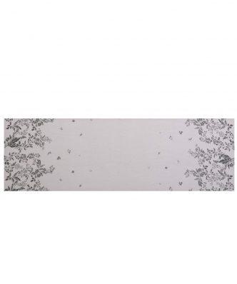 Τραβέρσα SALVIA της NEF-NEF (45x140) ECRU/BLACK
