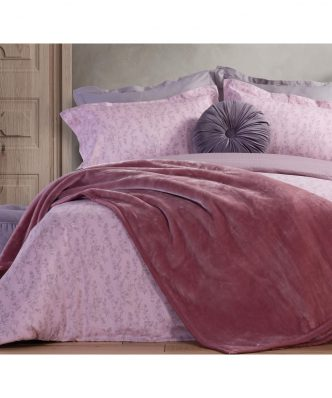 Βελουτέ Κουβέρτα Υπέρδιπλη Premium WARM της NEF-NEF (230x240) ORCHID