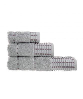 Σετ (3τμχ) Πετσέτες Μπάνιου STOICAL της NEF-NEF - GREY