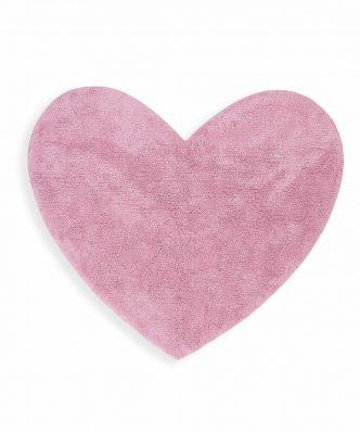 Παιδικό Χαλί JUNIOR HEART της NEF-NEF (125x100) PINK