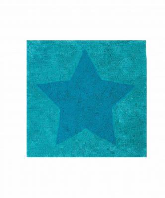 Παιδικό Χαλί JUNIOR STAR της NEF-NEF (120x120) AQUA