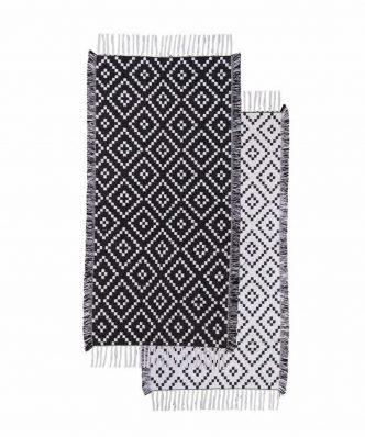 Χαλί (2 όψεων) LOVERA της NEF-NEF (70x140) BLACK