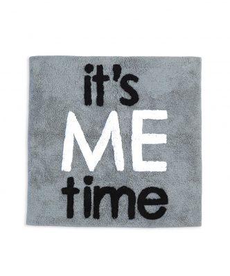 Πατάκι Μπάνιου IT'S ME TIME της NEF-NEF (80x80) GREY