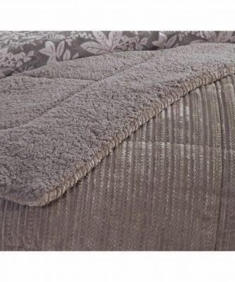 Κουβερτοπάπλωμα Υπέρδιπλο με Γουνάκι REDICK της NEF-NEF (240x220) BEIGE