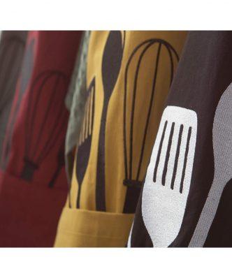 Σετ Ποδιά & Γάντι Κουζίνας COOKING της NEF-NEF (63x79+18x33) HONEY