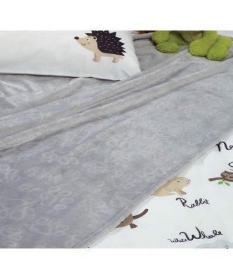 Παιδική Fleece Κουβέρτα Μονή FOOT της NEF-NEF (160x220)