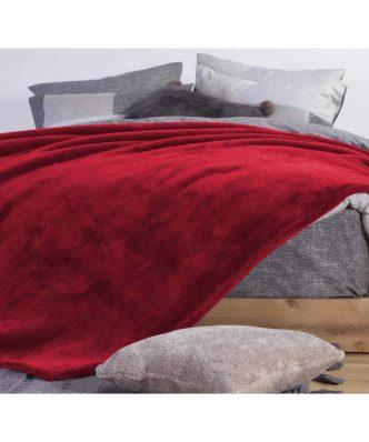 Fleece Κουβέρτα Sherpa Υπέρδιπλη NASTY 22 της NEF-NEF (240x220)