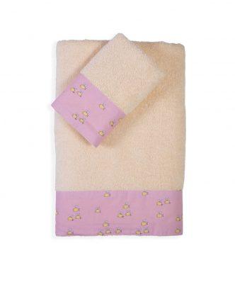 Σετ (2τμχ) Παιδικές Πετσέτες Μπάνιου COUNTRY PARK της NEF-NEF (30x50+70x140)