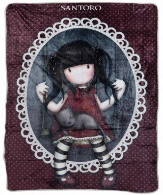 Παιδική Κουβέρτα Fleece Μονή SANTORO GORJUSS RUBY 5034 της DAS HOME (160x220) - ΜΠΟΡΝΤΩ