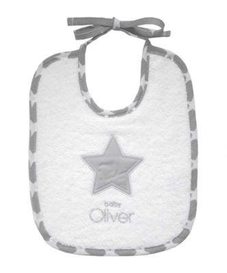 Βρεφική Σαλιάρα My Little Superstar Design 301 της Baby Oliver (20x25)