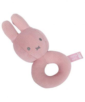 Υφασμάτινη Κουδουνίστρα Miffy Pink Design 3611 της Miffy (16x7,5x5)