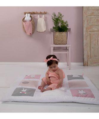 Βρεφικό Χαλάκι Δραστηριοτήτων Miffy Pink Design 3625 της Miffy (100x85x5)