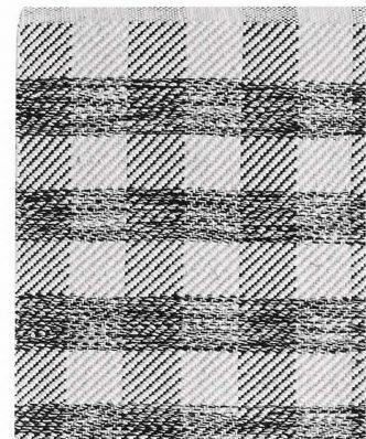 Χαλάκι Κουζίνας CARLO της ΚΕΝΤΙΑ (70x140) - BLACK- WHITE