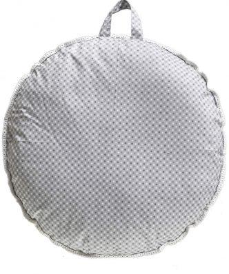 Μαξιλάρα Δαπέδου 2 όψεων SCOTT της ΚΕΝΤΙΑ (Δ:80cm) - GREY