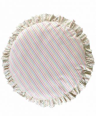 Μαξιλάρα Δαπέδου 2 όψεων ROSA της ΚΕΝΤΙΑ (Δ:80cm) - PINK- CIEL- GREEN