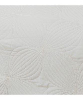Σετ Νυφικό Κουβερλί Υπέρδιπλο Σετ W-5 της BOREA (220x240) Εκρού