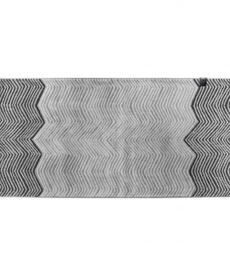 Σετ (3τμχ) Χαλάκια Κρεβατοκάμαρας ZEBRA CARBON της Guy Laroche (70x140 + 70x200)
