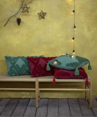 Διακοσμητικό Μαξιλάρι Amadeo της NIMA HOME (30x60) - Red