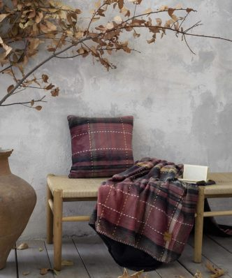 Fleece Ριχτάρι/Κουβέρτα Καναπέ Couture της NIMA HOME (130x170)