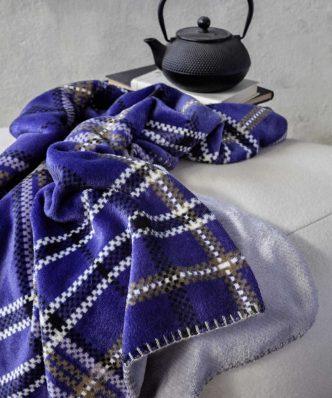 Fleece Ριχτάρι/Κουβέρτα Καναπέ Kester της NIMA HOME (130x170)