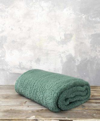 Fleece Κουβέρτα Manta της NIMA HOME - Green