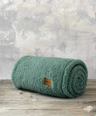 Ριχτάρι/Κουβέρτα Καναπέ Manta της NIMA HOME (130x170) - Green