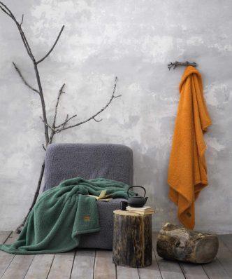 Ριχτάρι/Κουβέρτα Καναπέ Manta της NIMA HOME (130x170) - Charcoal
