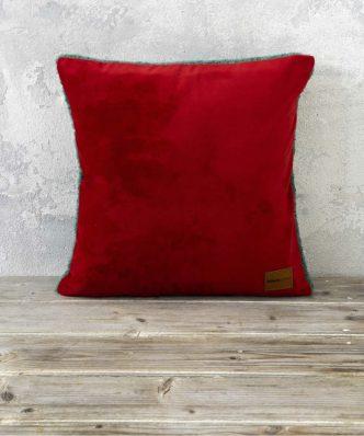 Διακοσμητικό Μαξιλάρι NUAN της NIMA HOME (45x45) - Red / Green