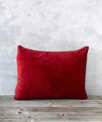 Διακοσμητικό Μαξιλάρι NUAN της NIMA HOME (40x60) - Red / Green