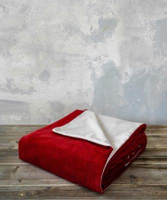 Παπλωματοθήκη Υπέρδιπλη NUAN της NIMA HOME (220x240) - Red