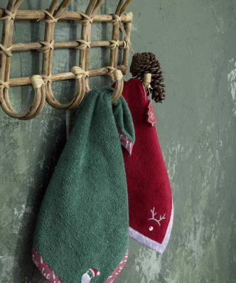 Πετσέτα Κουζίνας Santa της NIMA HOME (45x45)