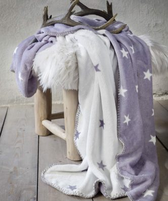 Fleece Ριχτάρι/Κουβέρτα Καναπέ Stilla της NIMA HOME (130x170)