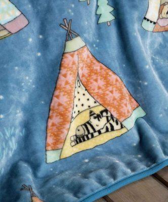 Παιδική Κουβέρτα Βελουτέ Μονή Tippietie της NIMA HOME (160x220)