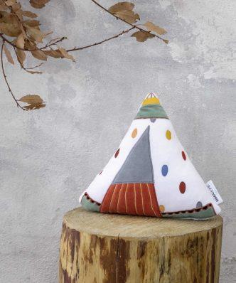 Διακοσμητικό Παιδικό Μαξιλάρι Tippietie της NIMA HOME (30x15)